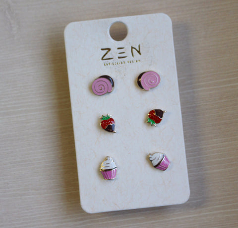 Sweet Treats Earring Set