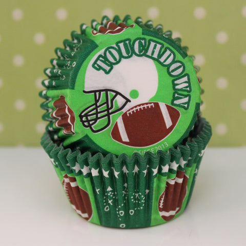 Football Cupcake Liners - Cupcake Dazzle