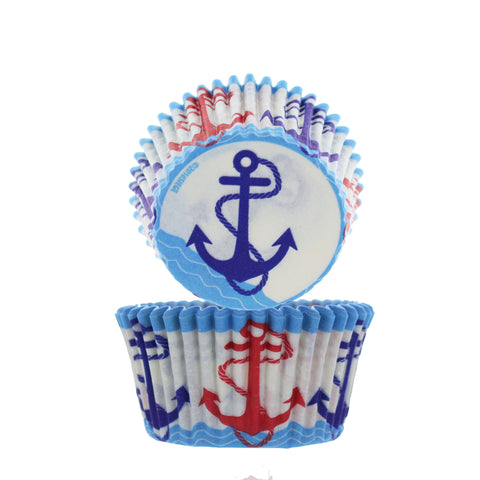 Anchor Cupcake Liners - Cupcake Dazzle