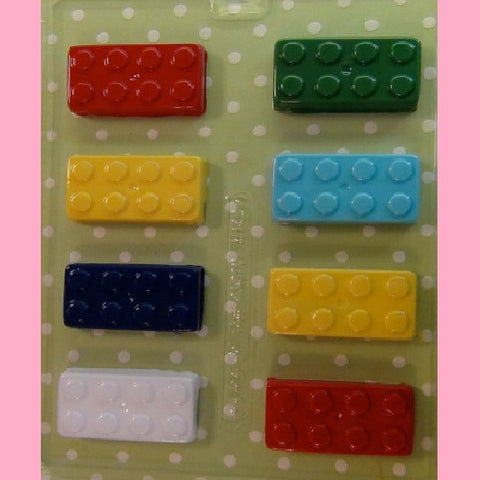 Building Block Candy Mold - Cupcake Dazzle