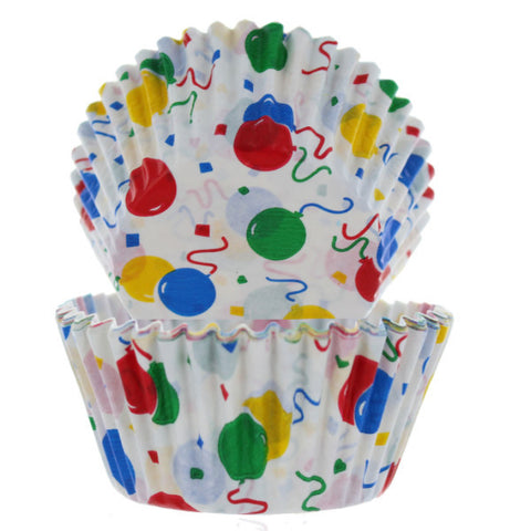 Birthday Balloon Cupcake Liners - Cupcake Dazzle