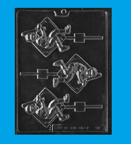 Baseball Player Candy Mold - Cupcake Dazzle