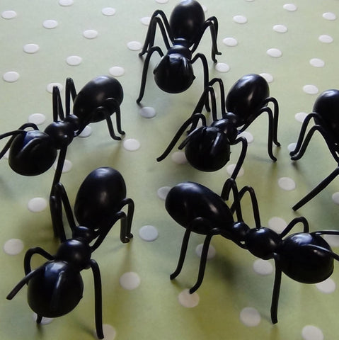 3-D Ant Toppers - Cupcake Dazzle