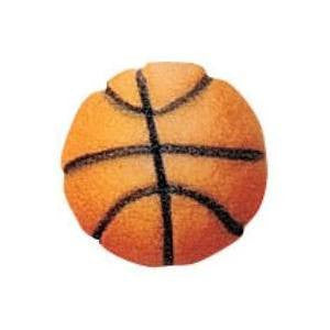 Basketball Sugar Pieces - Cupcake Dazzle