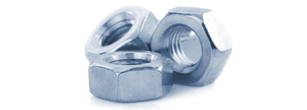Extra-wide Hex Nuts