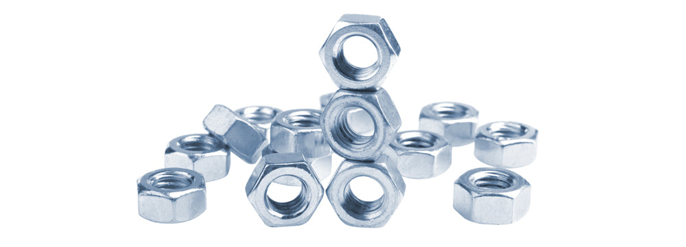Thin Extra-wide Hex Nuts