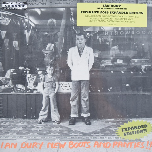 Ian Dury/ New Boots and Panties!!