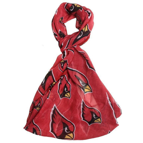 Arizona Cardinals Official NFL Logo Infinity Scarf