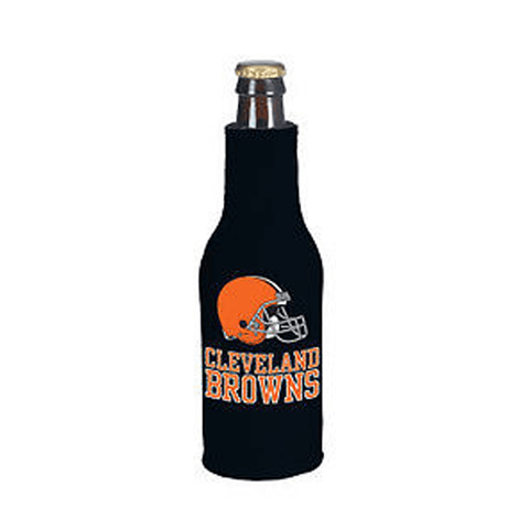 Cleveland Browns NFL Beer Bottle Holder Koozie - Neoprene Cooler