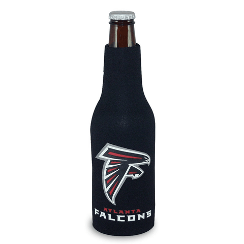 Atlanta Falcons NFL Beer Bottle Holder Koozie - Neoprene Cooler
