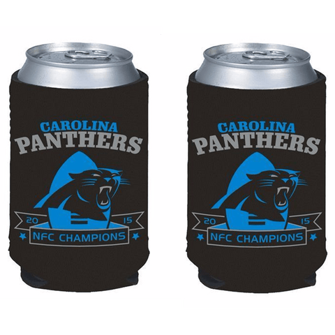 Carolina Panthers NFL 2015 NFC Champions Can Kaddys - 2-Pack