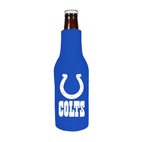 Indianapolis Colts NFL Beer Bottle Holder Koozie - Neoprene Cooler