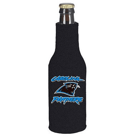 Carolina Panthers NFL Beer Bottle Holder Koozie - Neoprene Cooler