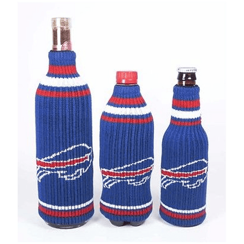 Buffalo Bills NFL Krazy Kovers Stretchy Woolie Bottle Cooler