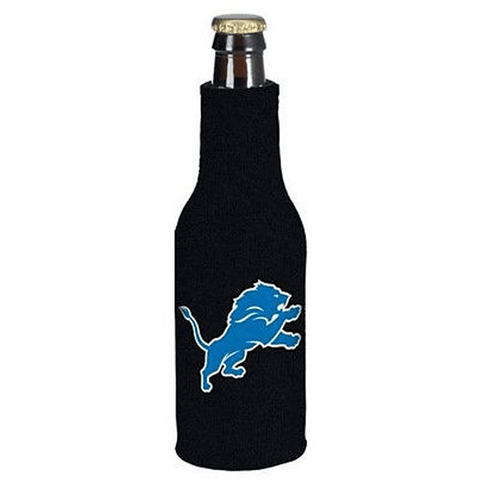 Detroit Lions NFL Beer Bottle Holder Koozie - Neoprene Cooler