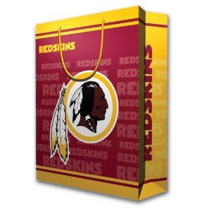 Washington Redskins Official NFL Medium Gift Bag