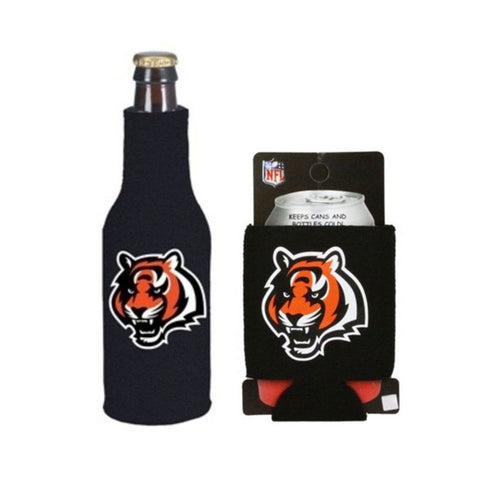 Cincinnati Bengals NFL Cooler Can & Bottle Beer Drink Holder Officially Licensed