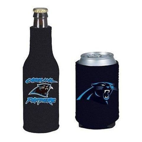 Carolina Panthers NFL Cooler Can & Bottle Beer Drink Holder Officially Licensed