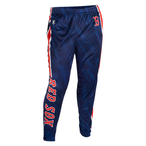 Boston Red Sox Official MLB Men's Tapered Zip Up Pants