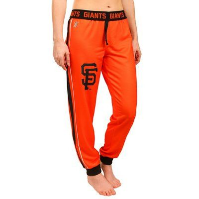 San Francisco Giants Official MLB Womens Poly Fleece Jogger Pants