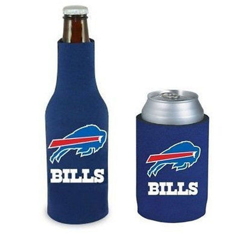 Buffalo Bills NFL Cooler Can & Bottle Beer Drink Holder Officially Licensed