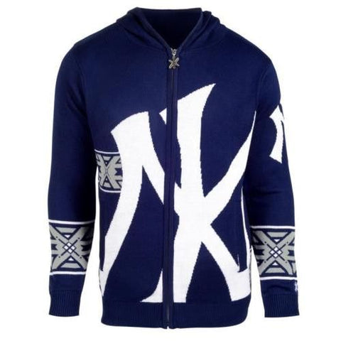New York Yankees Official MLB Full Zip Hooded Sweater
