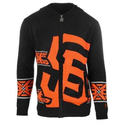 San Francisco Giants Official MLB Full Zip Hooded Sweater