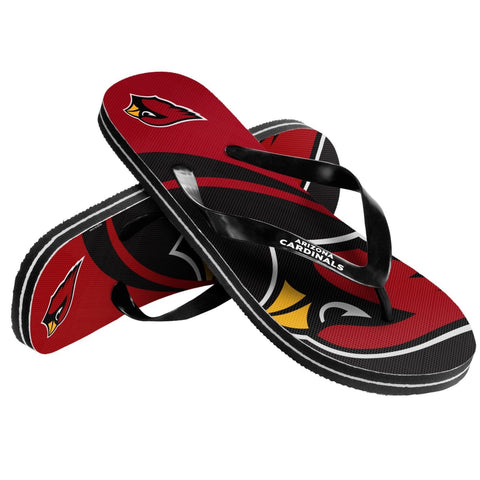 Arizona Cardinals Official NFL Unisex Thong Flip Flops