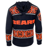 Chicago Bears Official NFL Full Zip Hooded Sweater