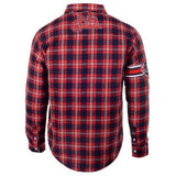 St Louis Cardinals Wordmark Long Sleeve MLB Flannel Shirt by Klew