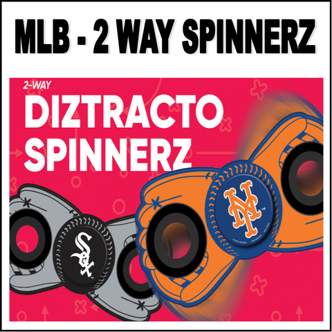 Baltimore Orioles MLB Baseball Two Way Team Diztracto Spinnerz