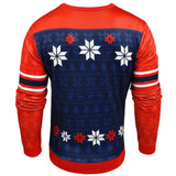 New England Patriots Official NFL Printed Ugly Sweater