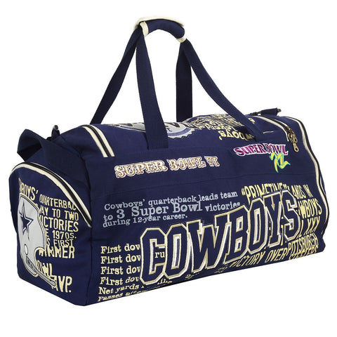 Dallas Cowboys Historic NFL Duffle Bag