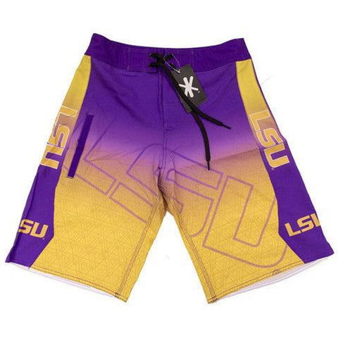 LSU Official NCAA Boardshorts