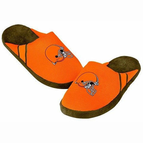 Cleveland Browns Official NFL Jersey Slippers