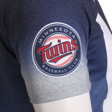 Minnesota Twins Official MLB Gradient Tee By Klew