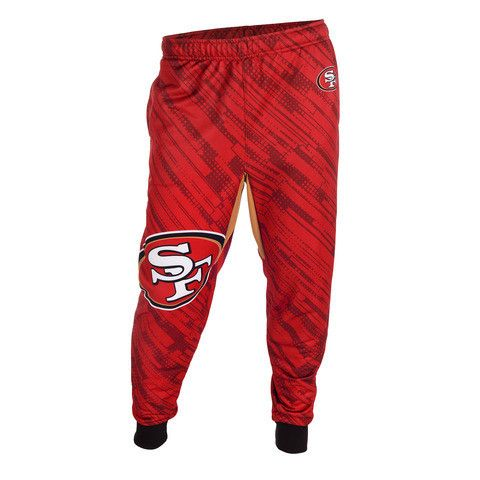 San Francisco 49ers Official NFL Men's Jogger Pants