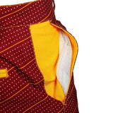 Washington Redskins Official NFL Dots Walking Shorts with Pockets Button and Zipper