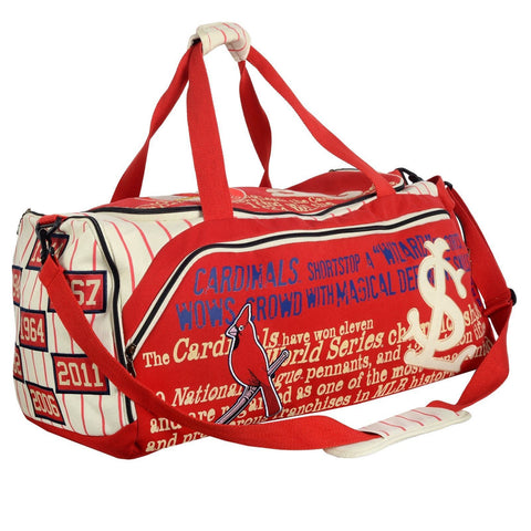 St Louis Cardinals Historic MLB Duffle Bag