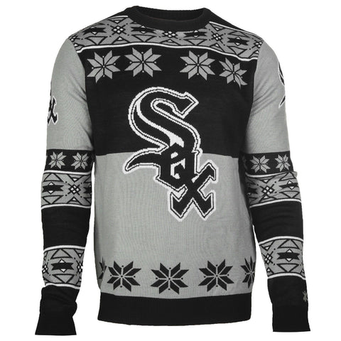 Chicago White Sox Official MLB Big Logo Ugly Crew Neck Sweater