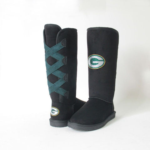 "Crystal Logo ""Victor Boots"" For Packers Fans"