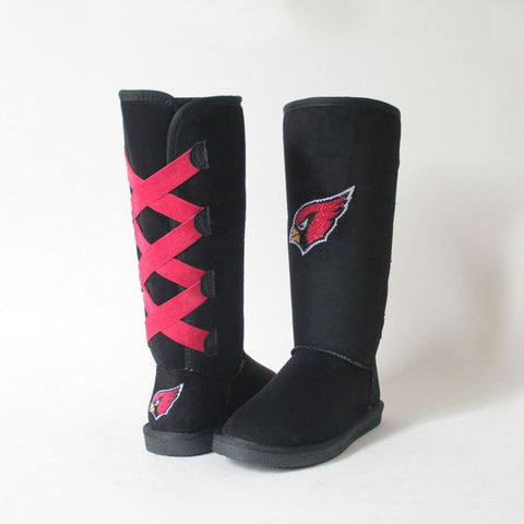"Crystal Logo ""Victor Boots"" For Cardinals Fans"
