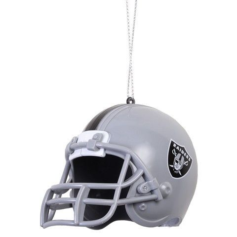 Oakland Raiders NFL Abs Helmet Ornament