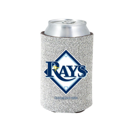 Tampa Bay Rays Official MLB Glitter Can Collapsable Beer Holders