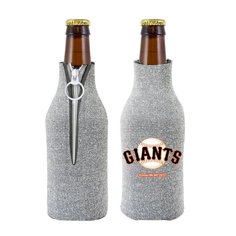 San Francisco Giants Official MLB Licensed Glitter Bottle Cooler Huggie