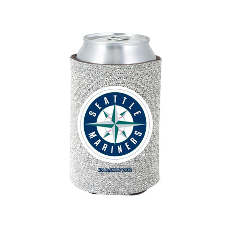 Seattle Mariners Official MLB Glitter Can Collapsable Beer Holders