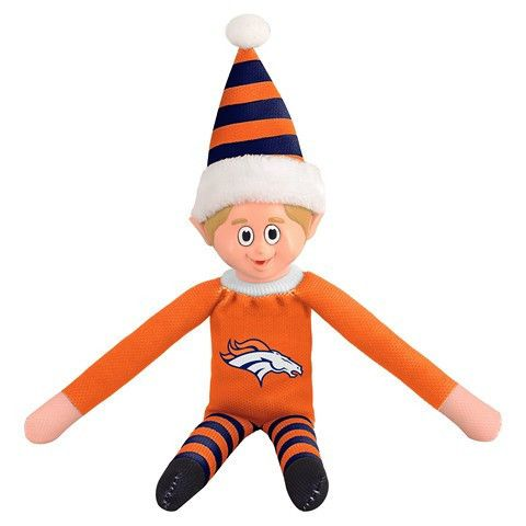 Denver Broncos NFL Team Elf