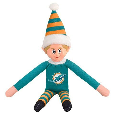 Miami Dolphins NFL Team Elf