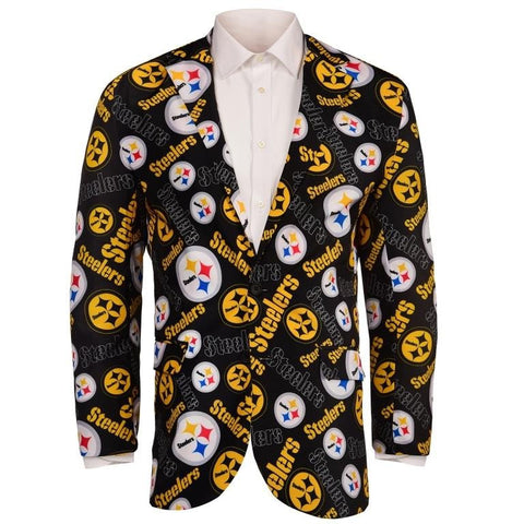 Pittsburgh Steelers NFL Men's Repeat Business Jacket