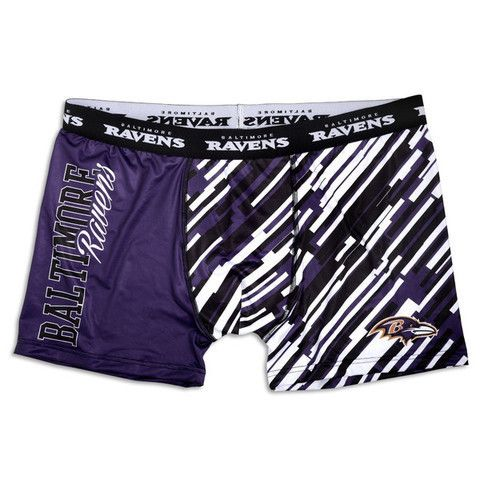 Baltimore Ravens Official NFL Compression Underwear
